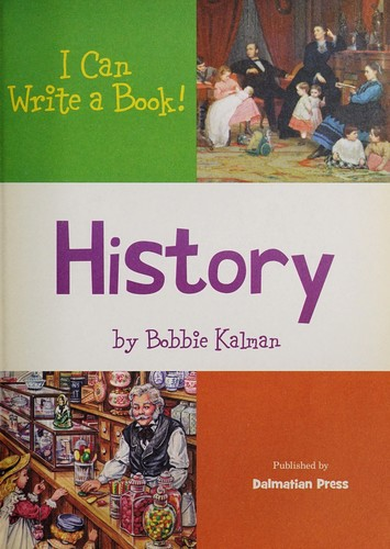 "Image for ""I Can Write a Book! - History"" Ages 7+"